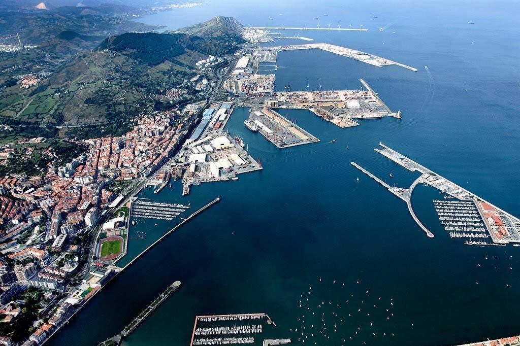 Mareas Puerto de Gijón, Vista general del Puerto