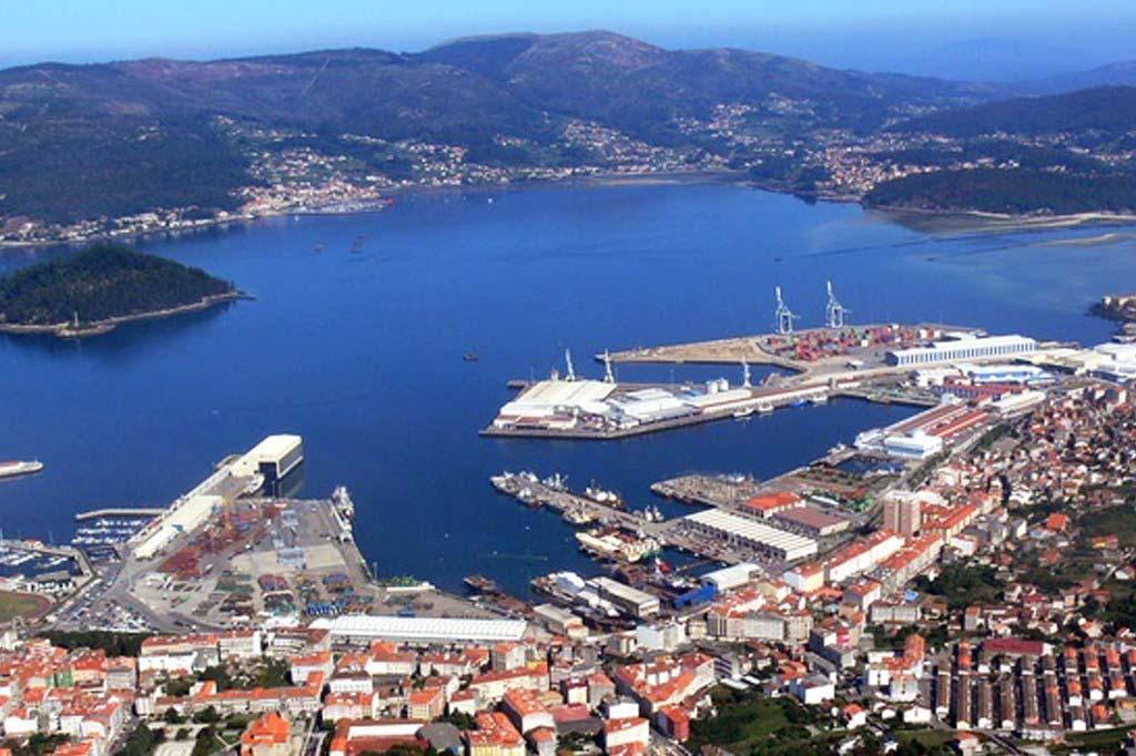 Mareas Puerto de Marín, Vista general del Puerto
