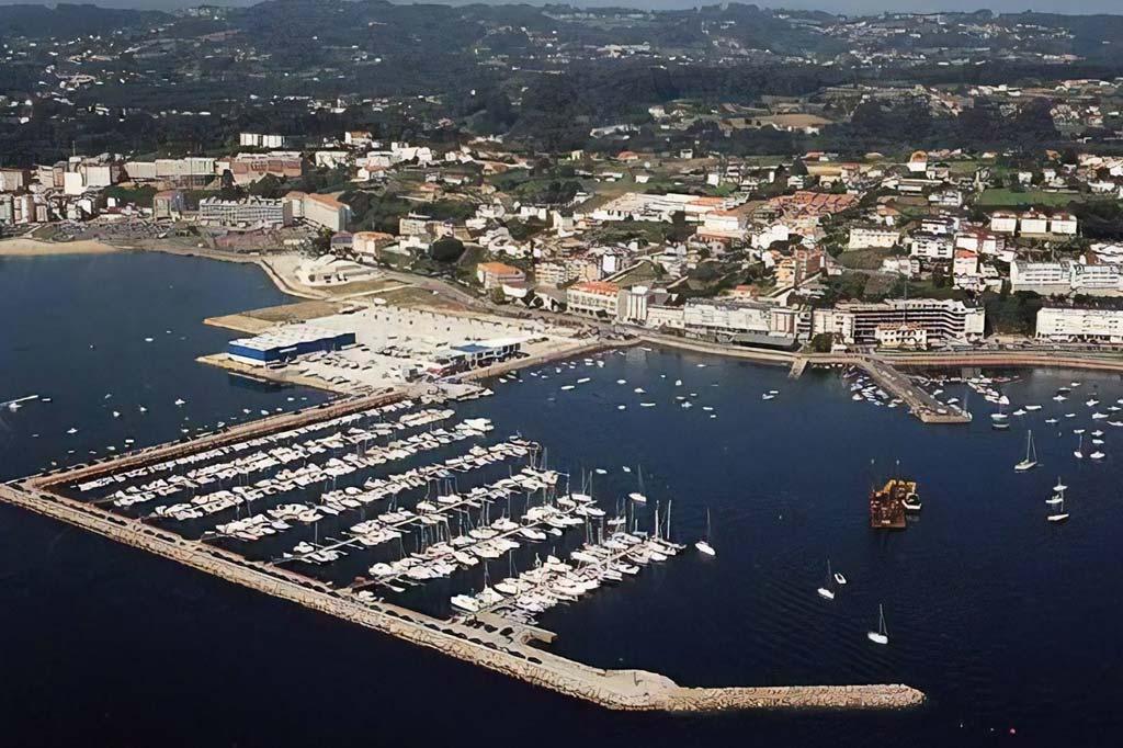 Mareas Puerto de Sada, Vista general del Puerto