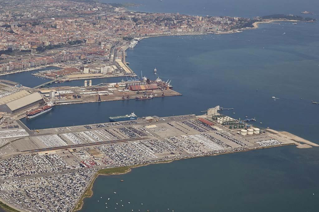 Mareas Puerto de Santander, Vista general del Puerto