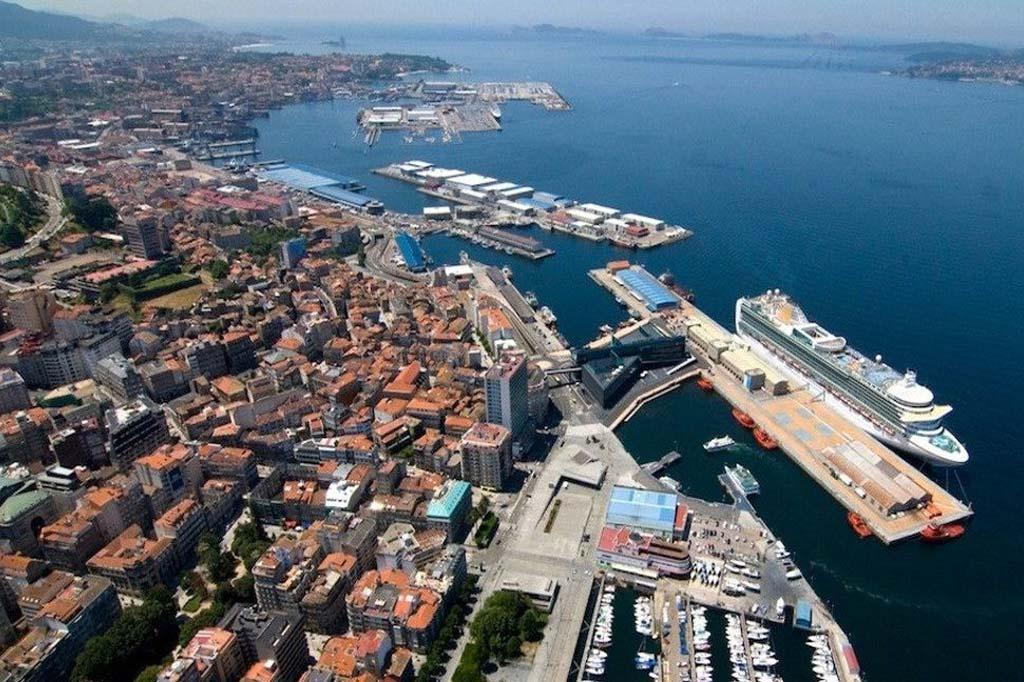 Mareas Puerto de Vigo, Vista general del Puerto