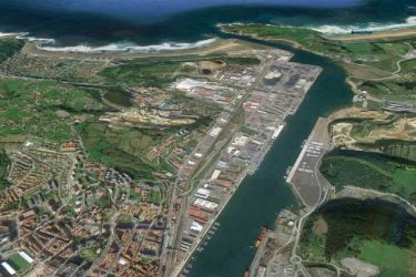 Vista General del Vista-General-Puerto-de-Avilés