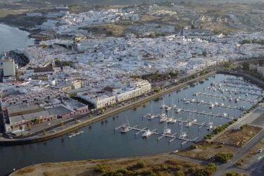 Vista General del Vista-General-Puerto-de-Ayamonte
