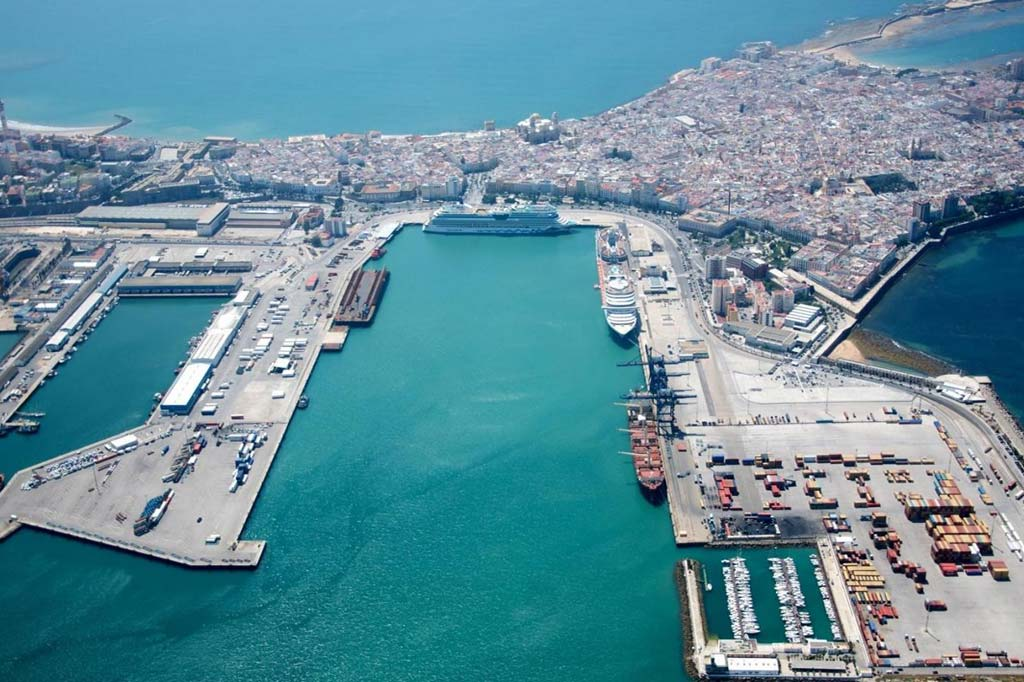 Vista General del Vista-General-Puerto-de-Cadiz
