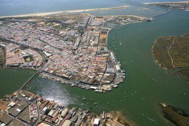 Vista General del Vista-General-Puerto-de-Isla-Cristina
