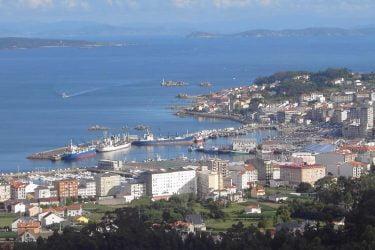 Vista General del Vista-General-Puerto-de-Santa-Uxia-de-Ribeira