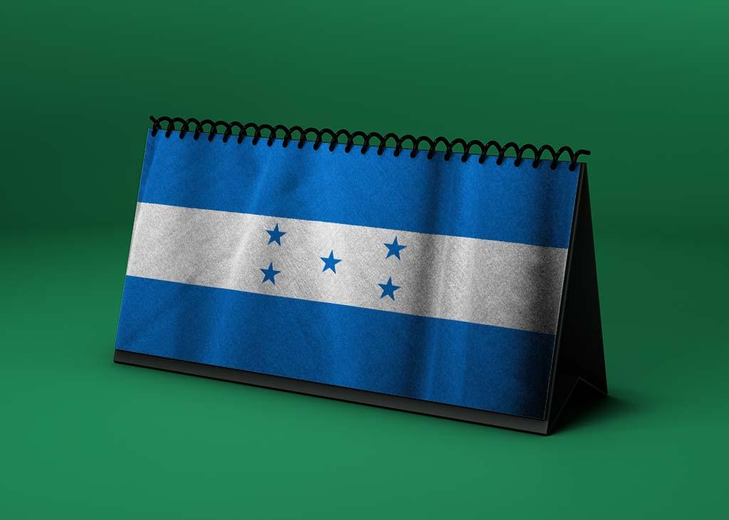 Calendario lunar enero de 2021 en Honduras