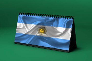 Calendario Lunar bandera-de-argentina