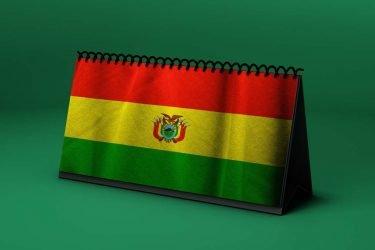 Calendario Lunar bandera-de-bolivia