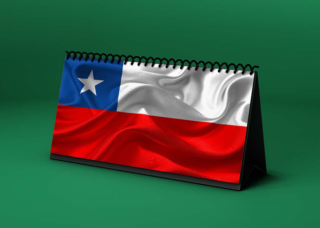Calendario Lunar bandera-de-chile