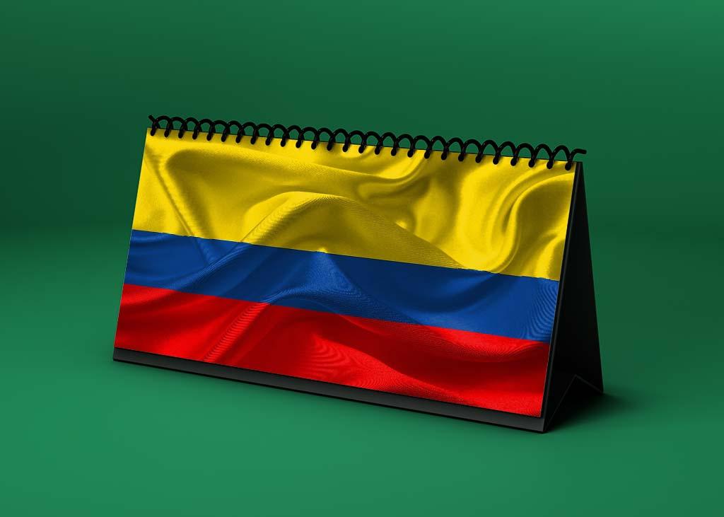 Calendario lunar abril de 2021 en Colombia