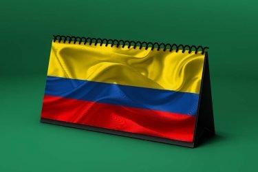 Calendario Lunar bandera-de-colombia