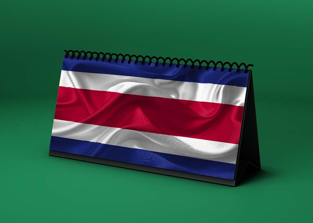 Calendario lunar junio de 2021 en Costa Rica