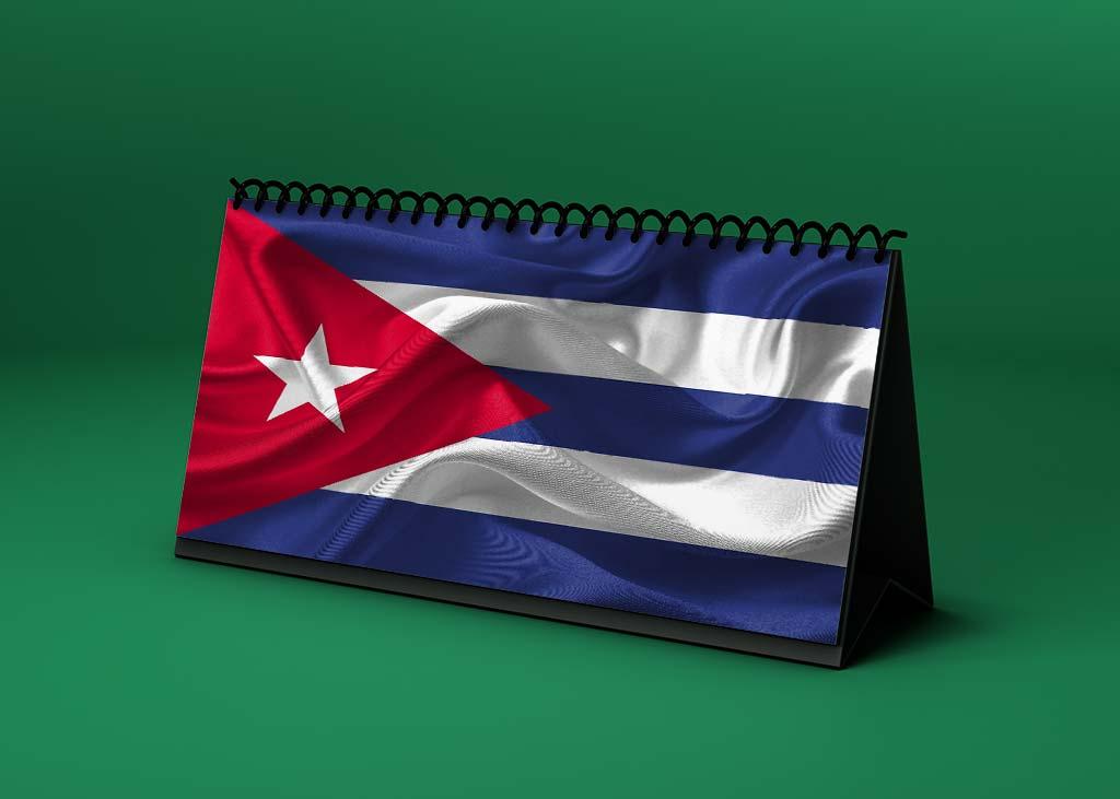 Calendario lunar abril de 2021 en Cuba