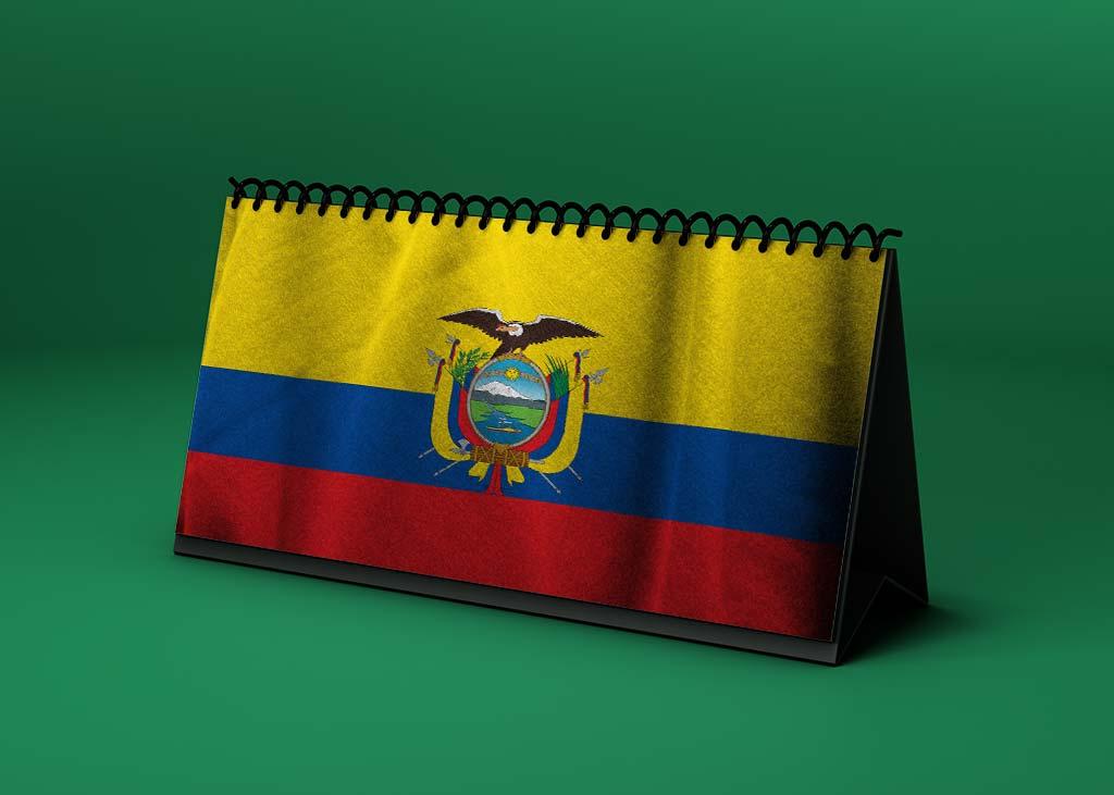 Calendario lunar enero de 2021 en Ecuador