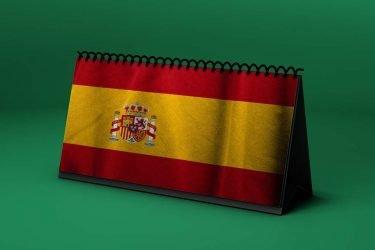 Calendario Lunar bandera-de-espana