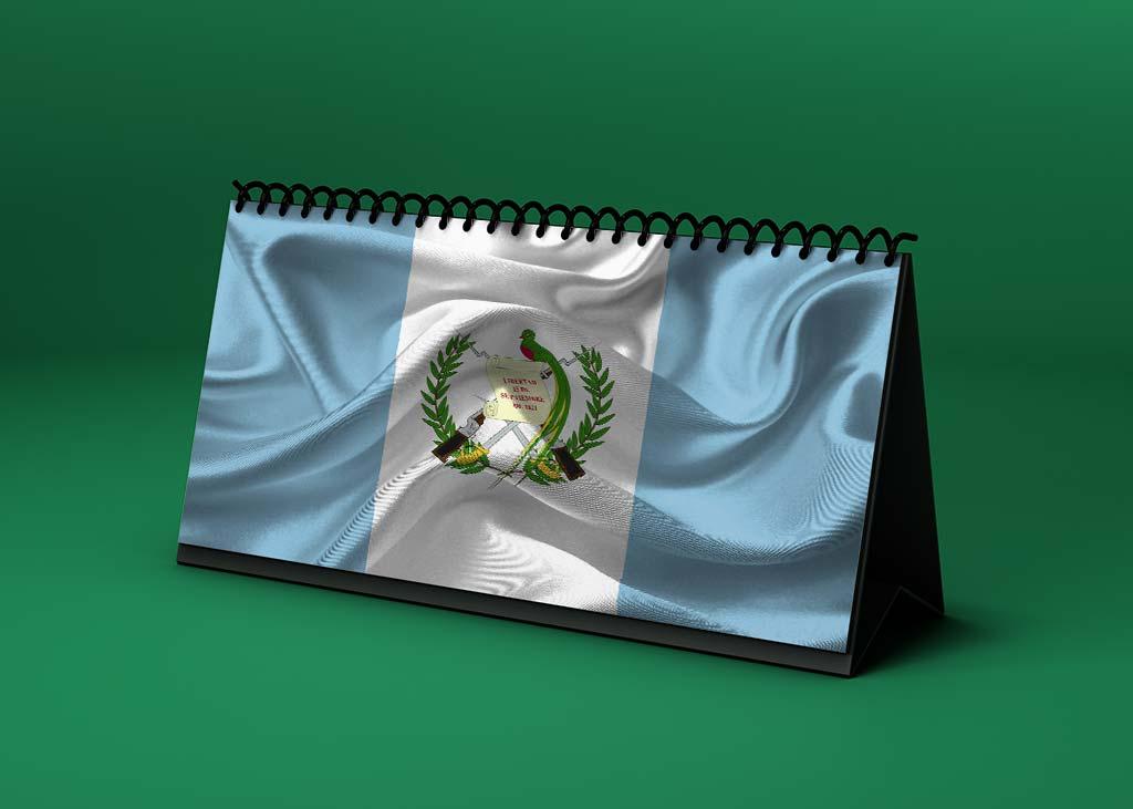 Calendario lunar abril de 2021 en Guatemala