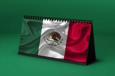 Calendario Lunar bandera-de-mexico