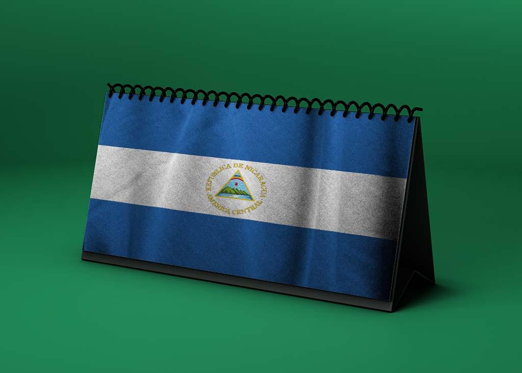 Calendario lunar abril de 2021 en Nicaragua