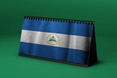 Calendario Lunar bandera-de-nicaragua