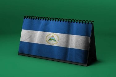 Calendario lunar octubre de 2020 en Nicaragua