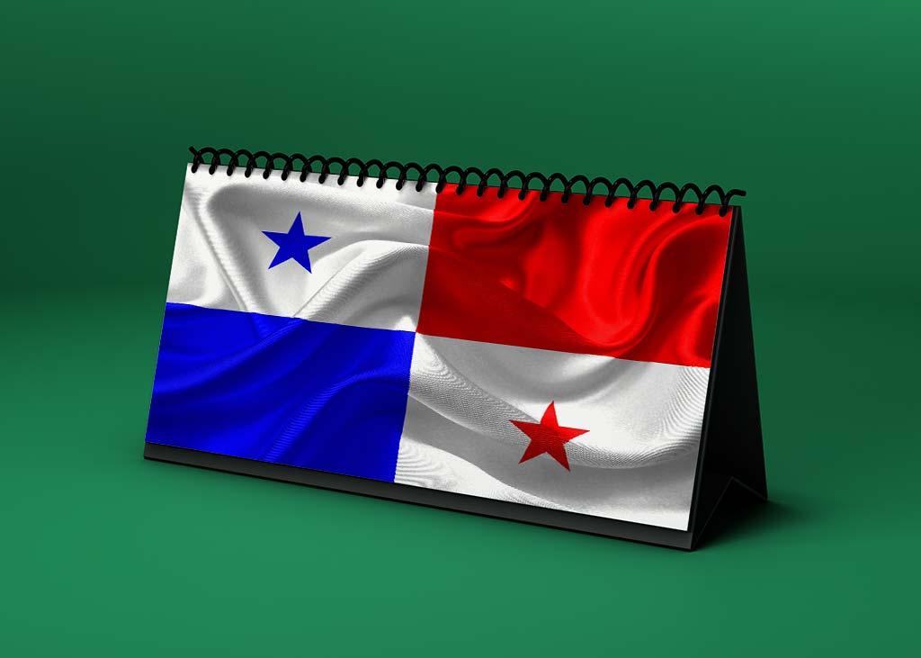 Calendario Lunar bandera-de-panama