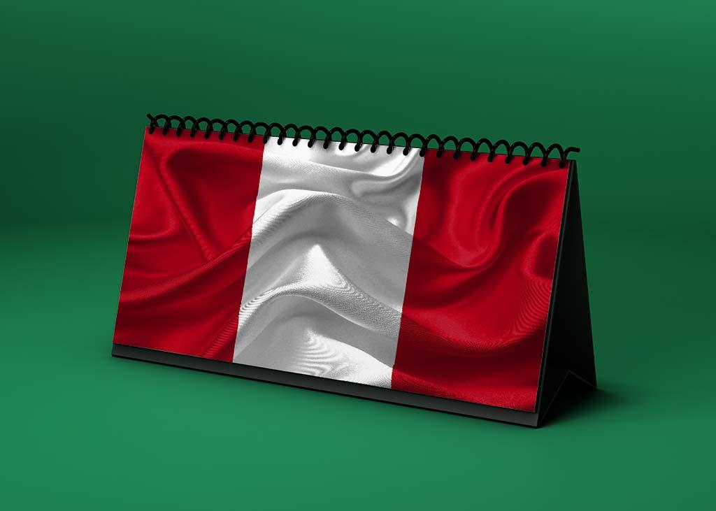 Calendario lunar marzo de 2021 en Perú