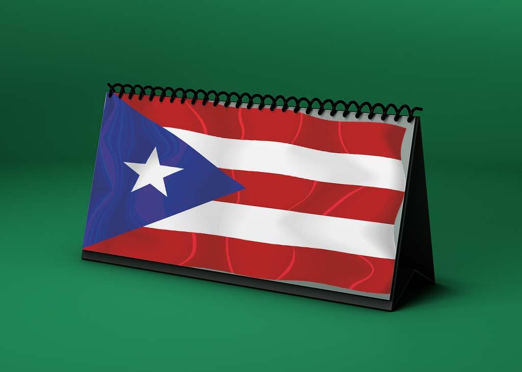 Calendario lunar julio de 2021 en Puerto Rico