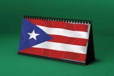 Calendario Lunar bandera-de-puerto-rico