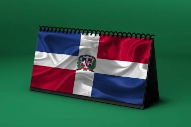 Calendario Lunar bandera-de-republica-dominicana