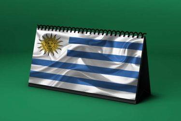 Calendario Lunar bandera-de-uruguay