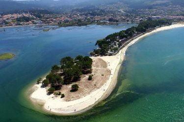 Vista general de Bayona Playa