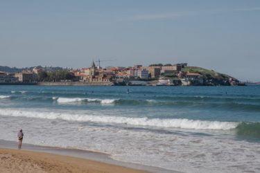 Vista general de Playa Amandi