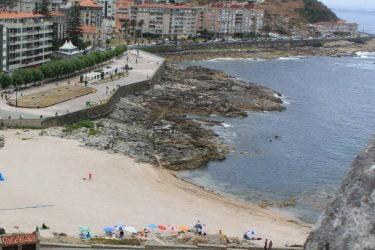 Vista general de Playa Baiona