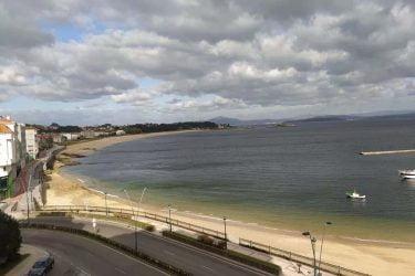 Vista general de Playa Coroso