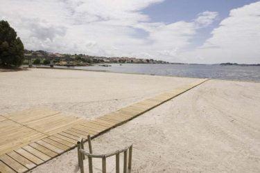 Vista general de Playa Da Torre