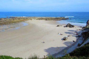 Vista general de Playa De Amió