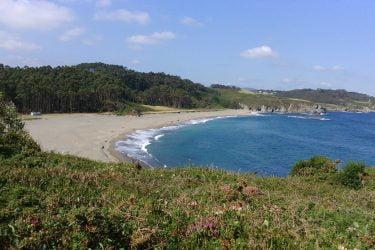 Vista general de Playa De Frexulfe