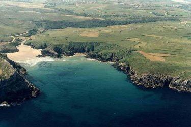 Vista general de Playa De Fuentes