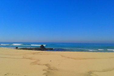 Vista general de Playa Espiñeirido