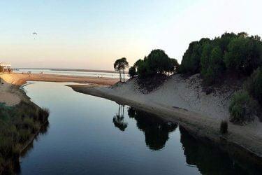 Vista general de Playa Nuevo Portil