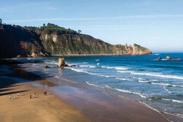 Vista general de Playa de Aguilar