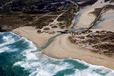 Vista general de Playa de Baldaio
