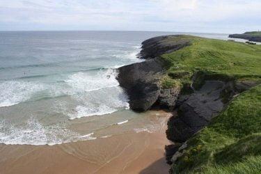 Vista general de Playa de Cuberris