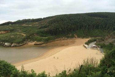 Vista general de Playa de Galizano