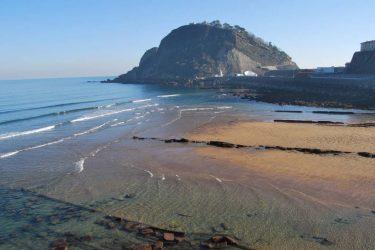 Vista general de Playa de Gaztetape