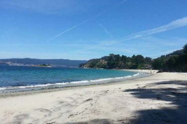 Vista general de Playa de Lapaman