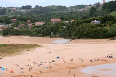Vista general de Playa de Noja