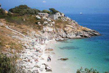 Vista general de Playa de Nosa Señora