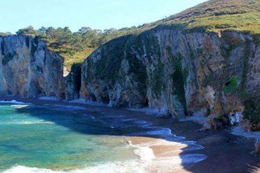 Vista general de Playa de Santa Ana